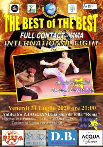 "In collina tutto pronto per ""The Best of the Best"""