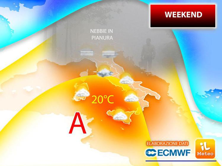 Meteo, le previsioni per il week end