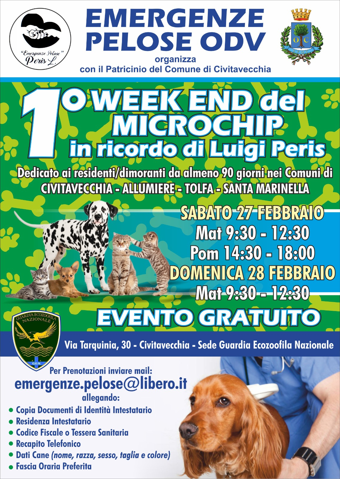Weekend del microchip a Fiumaretta